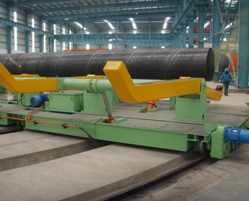 Back Swing Spiral Welded Pipe Mill 13