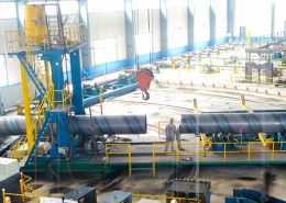 Back Swing Spiral Welded Pipe Mill 2
