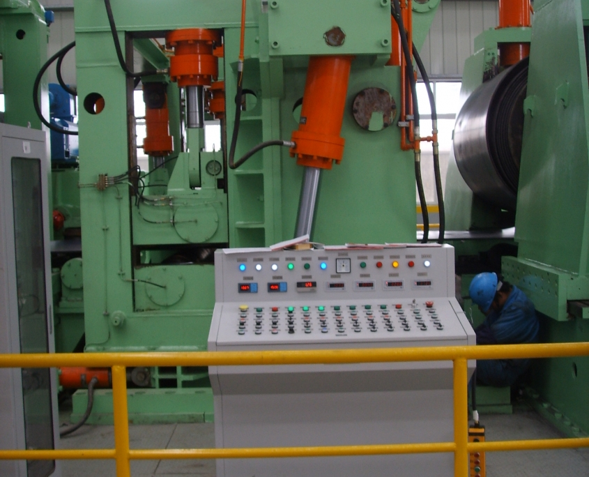 Back Swing Spiral Welded Pipe Mill 3