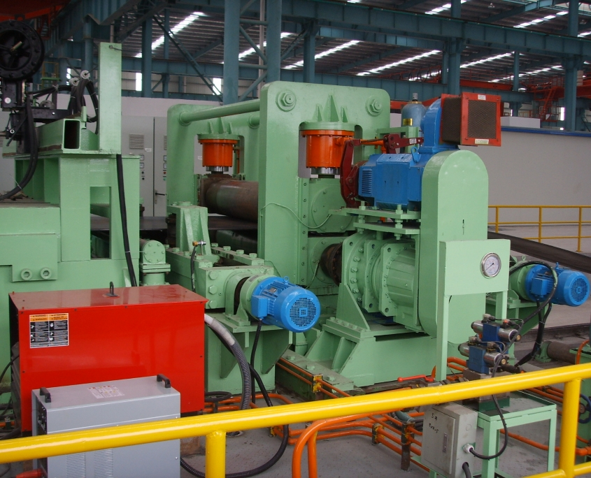 Back Swing Spiral Welded Pipe Mill 6