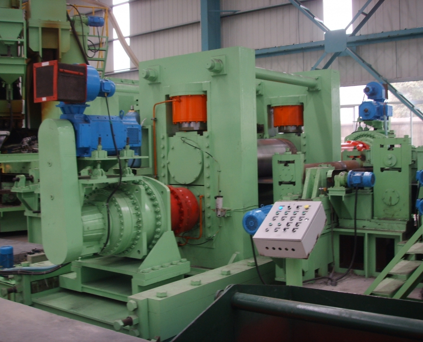 Back Swing Spiral Welded Pipe Mill 7