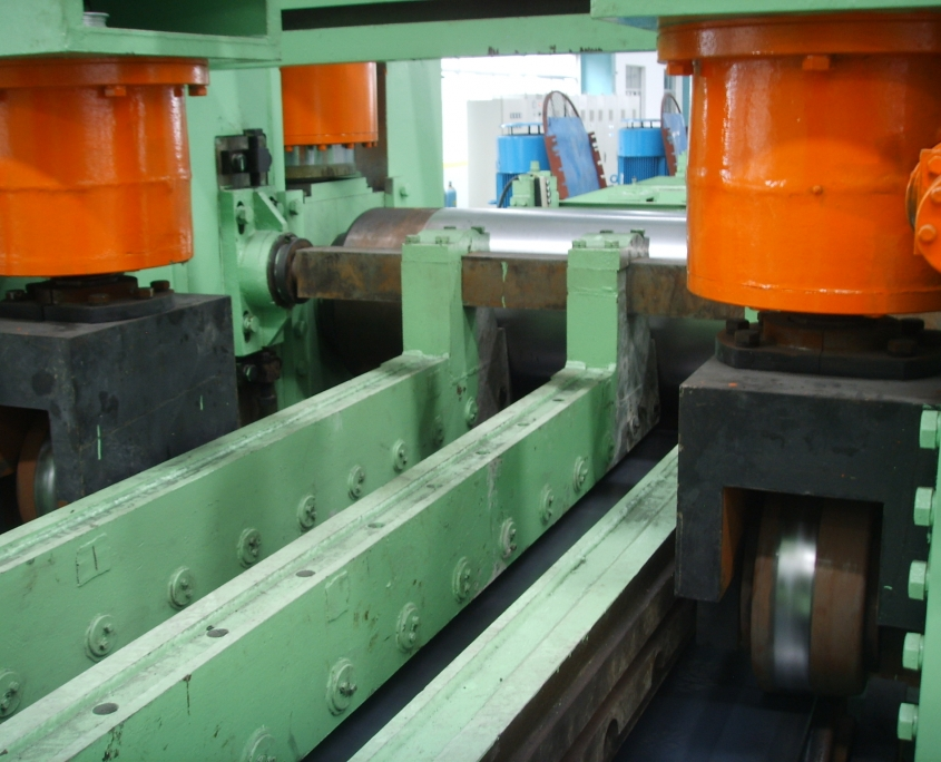 Back Swing Spiral Welded Pipe Mill 8