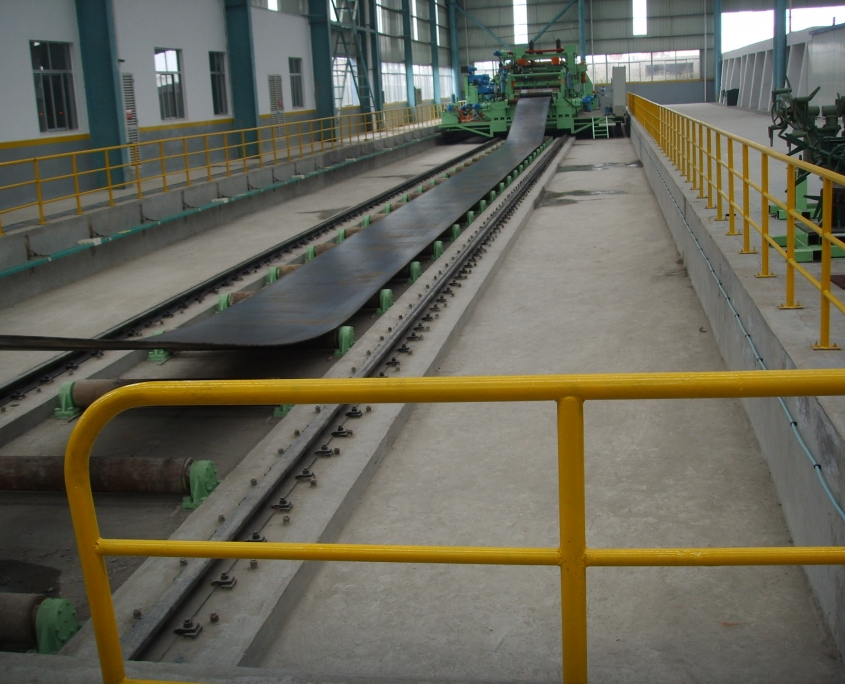 Back Swing Spiral Welded Pipe Mill 9