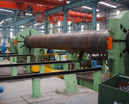 Flat head chamfering machine 1