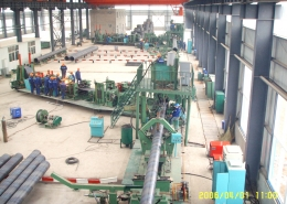 Front Swing Spiral Welded Pipe Mill 4