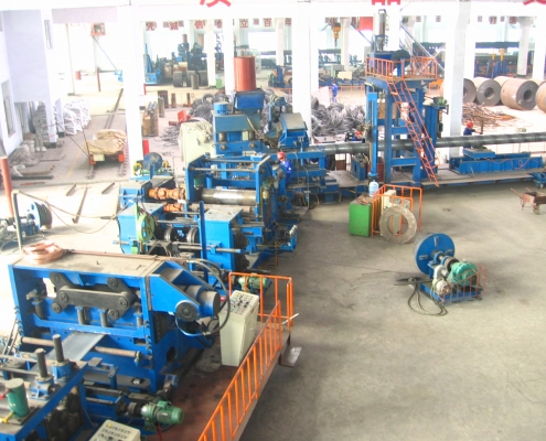 Front Swing Spiral Welded Pipe Mill 6