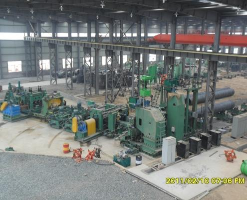 Front Swing Spiral Welded Pipe Mill 7