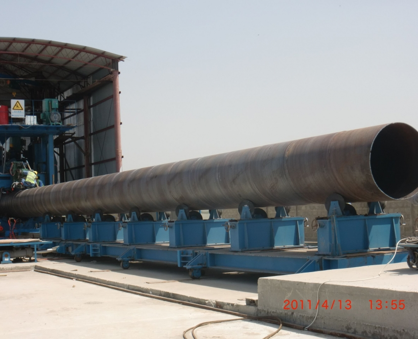 Front Swing Spiral Welded Pipe Mill 8