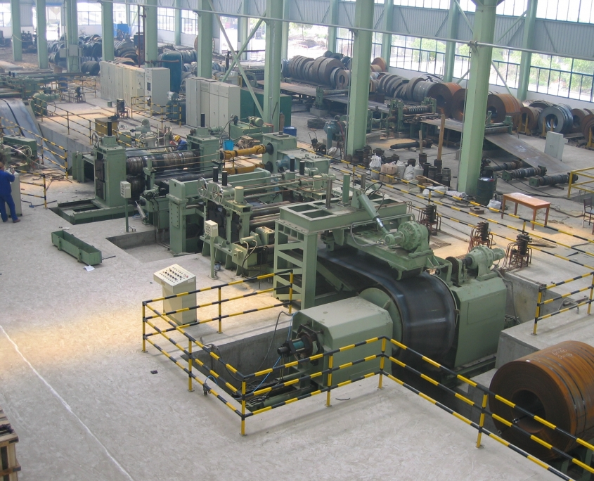Heavy slitting line 1