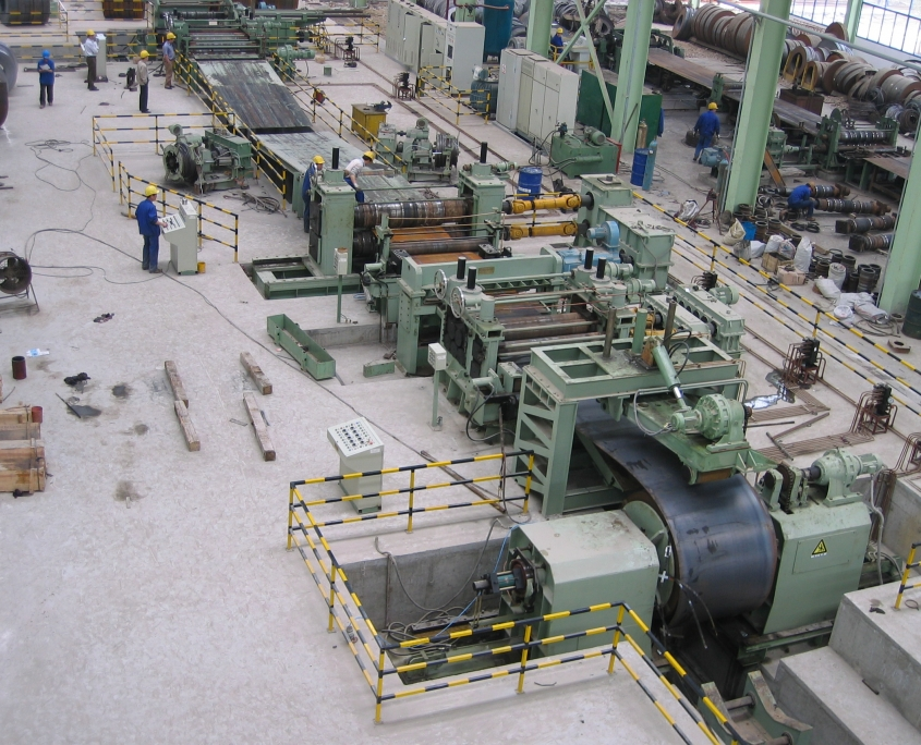 Heavy slitting line 2