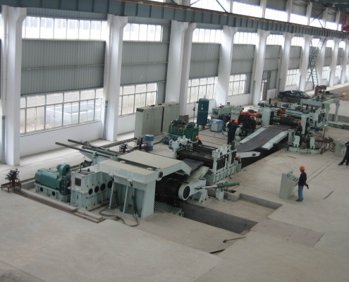 Heavy slitting line 3