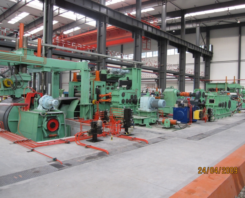 Heavy slitting line 4