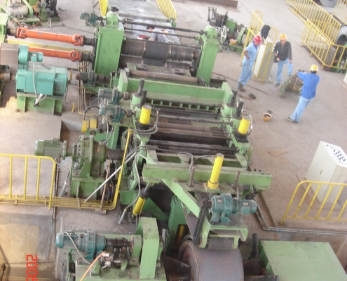 Heavy slitting line