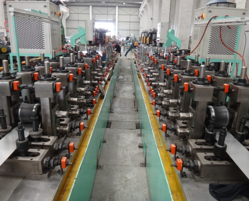 Precise Industrial Pipe Welded Mill