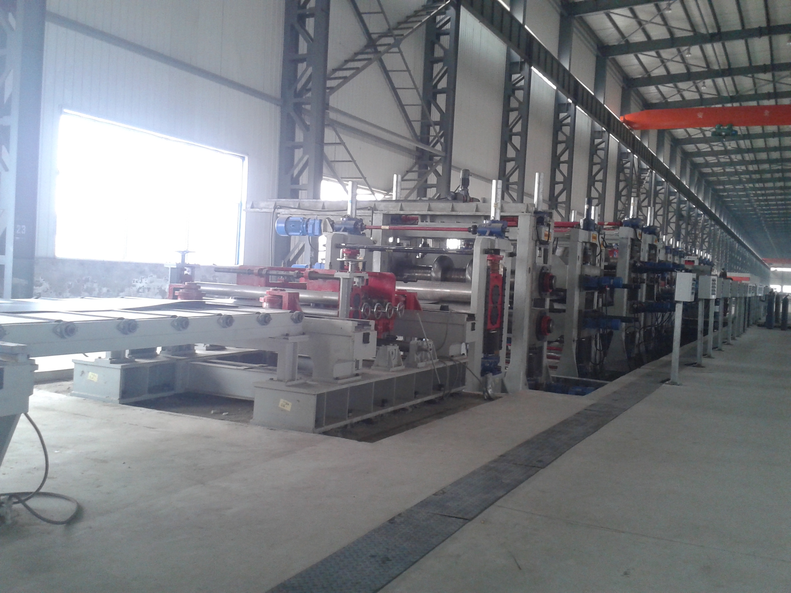 Stainless Steel Welded Pipe Mill 1