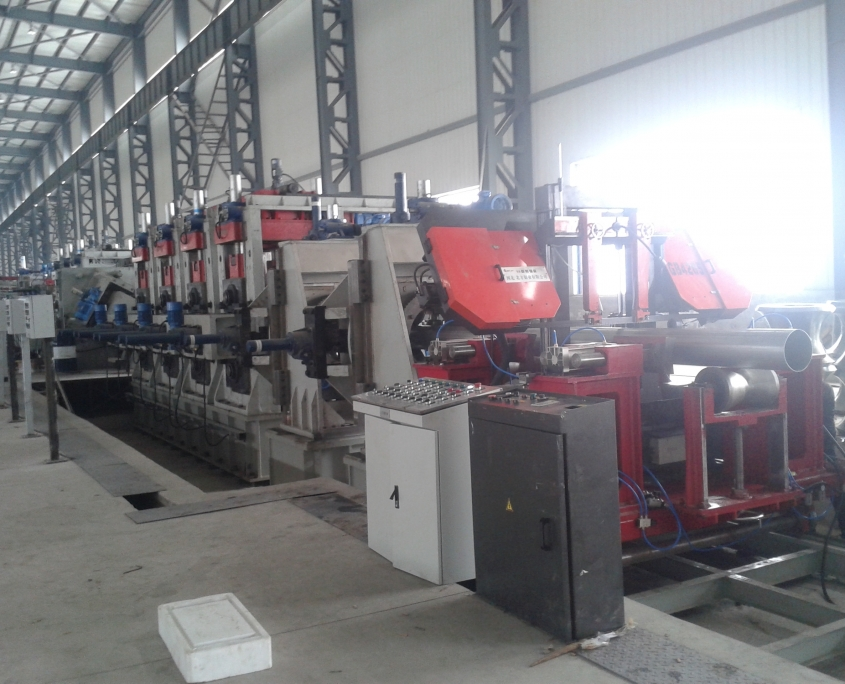 Stainless Steel Welded Pipe Mill 3
