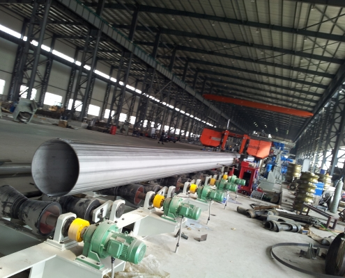 Stainless Steel Welded Pipe Mill 7