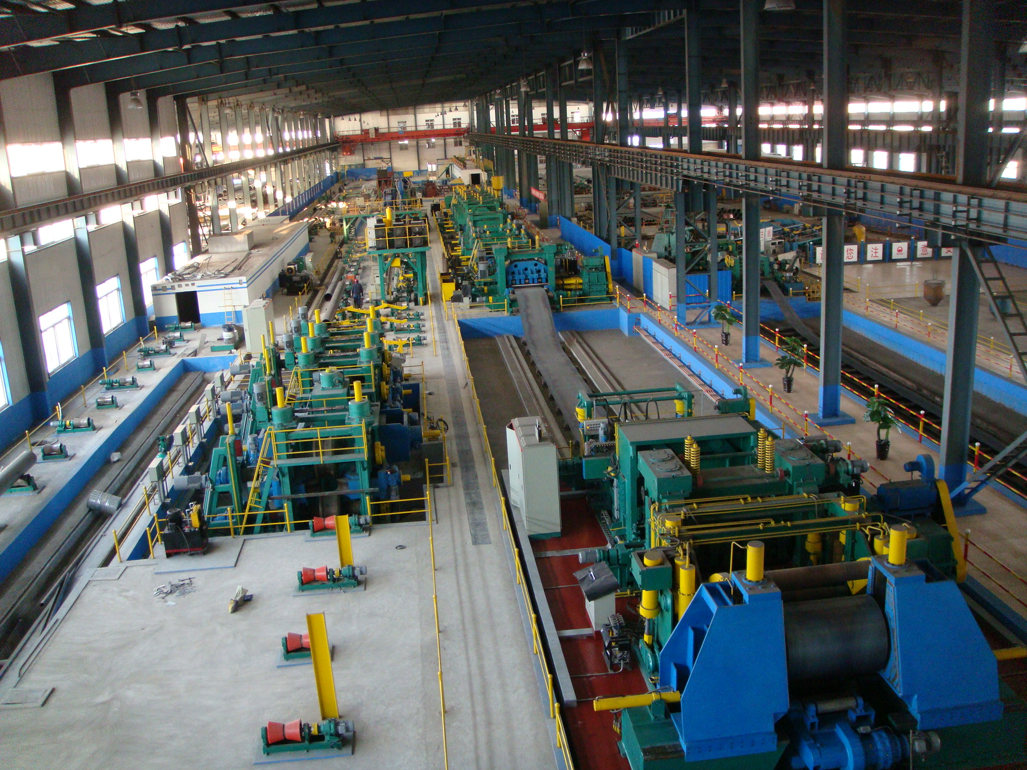 Straight Seam Submerged-arc Pipe Welded Mill 1