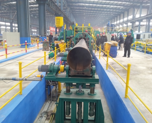 Straight Seam Submerged-arc Pipe Welded Mill 5