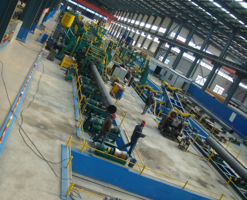 Straight Seam Submerged-arc Pipe Welded Mill 6