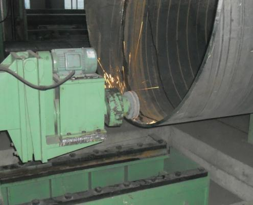 Weld seam grinding machine 1