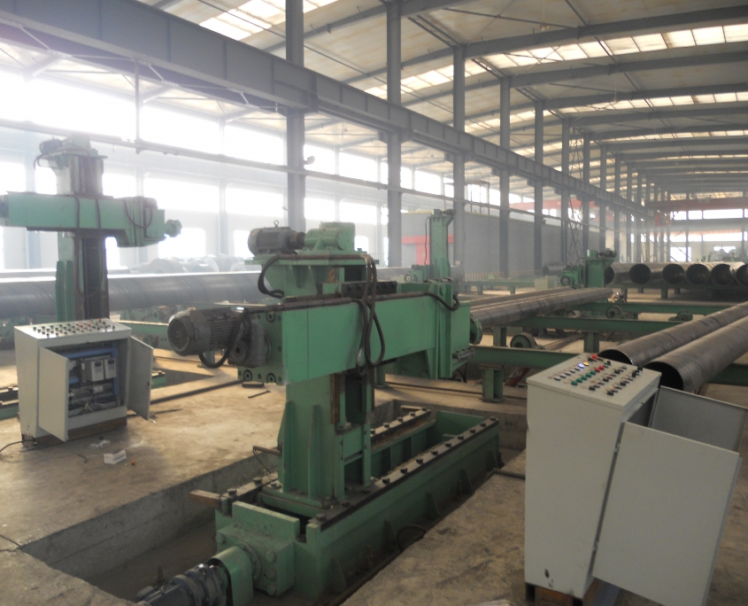 Weld seam grinding machine 2
