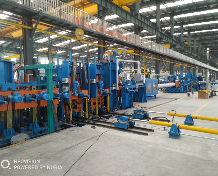Stainless Steel Gas Tube Mill 2