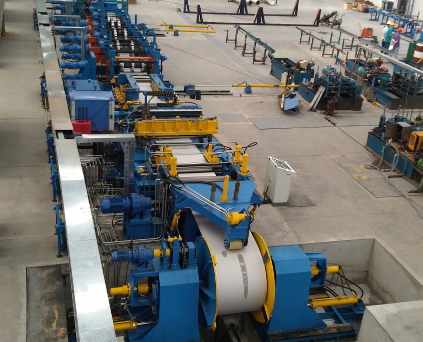 Stainless Steel Gas Tube Mill 3