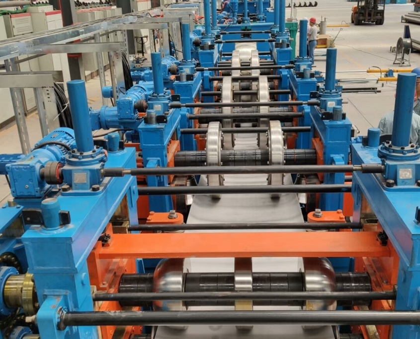 Stainless Steel Gas Tube Mill 4