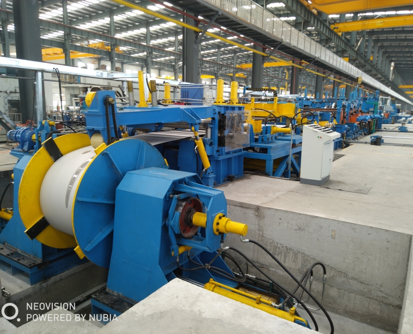 Stainless Steel Gas Tube Mill 5