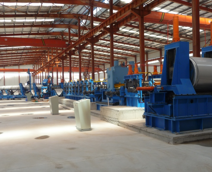 Stainless Steel Gas Tube Mill 7
